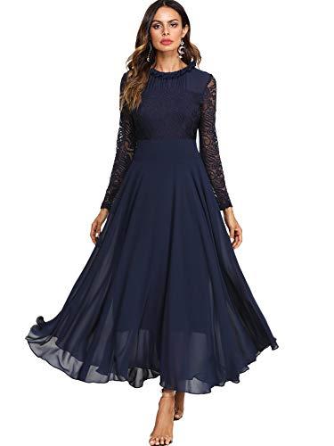 Top 8 Abendkleid Langarm - Damen-Kleider - Onesena